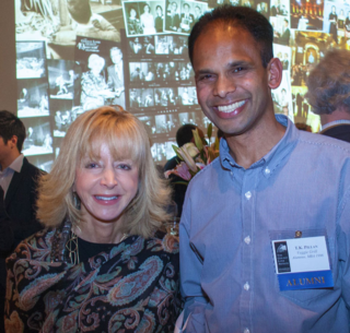 Dean and Loeb Awards judge Judy Olian with T.K. Pillan