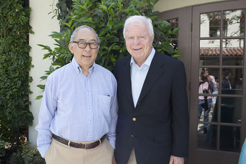 Co-founders of the Riordan Programs William Ouchi and Richard Riordan