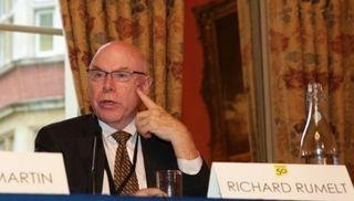 Richard Rumelt at table