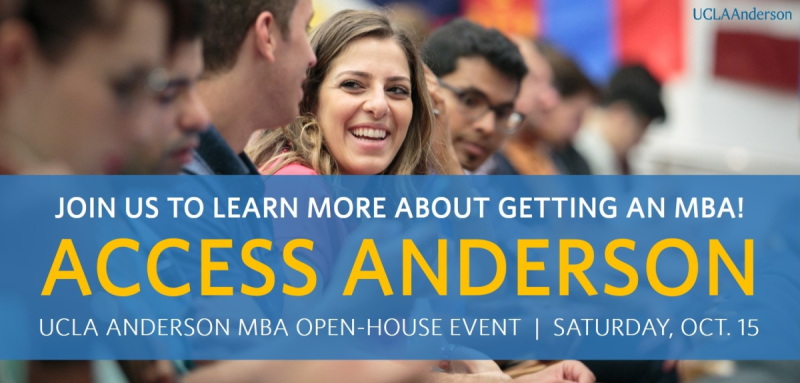 UCLA Anderson Access Anderson October 15, 2016