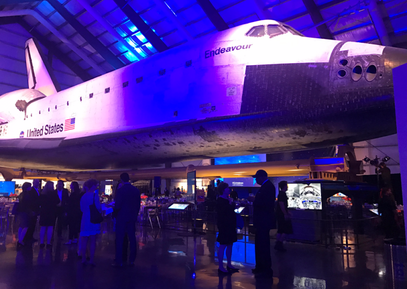 UCLA Anderson John Wooden Global Leadership Awards Space Shuttle Endeavour