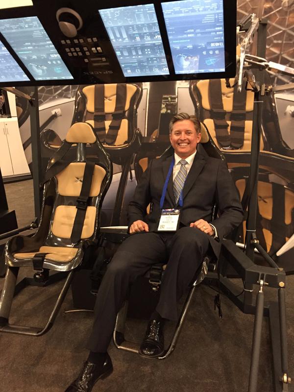 UCLA Anderson Lars Hoffman SpaceX Exhibit