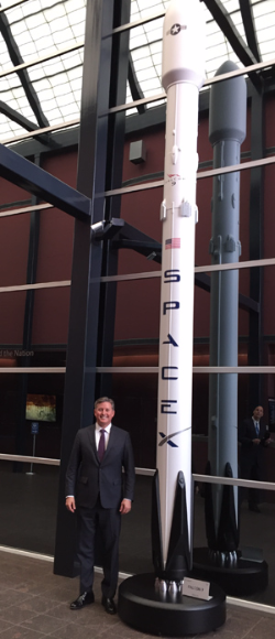 UCLA Anderson Lars Hoffman SpaceX Falcon 9