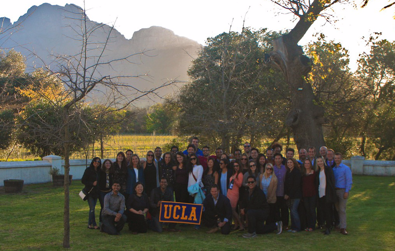 UCLA Anderson Global Immersion South Africa Franschhoek Valley