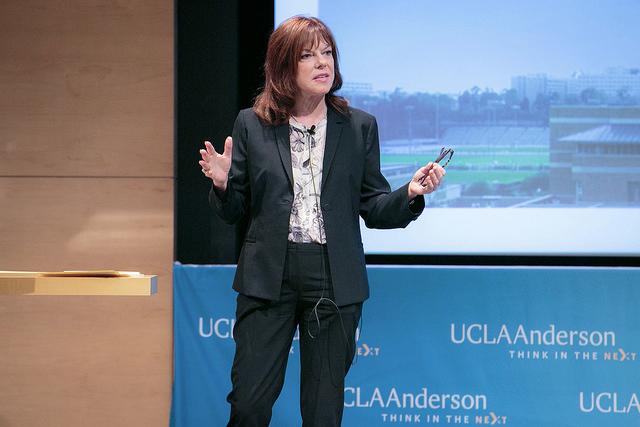 UCLA Anderson Sempra Energy CEO Debra Reed