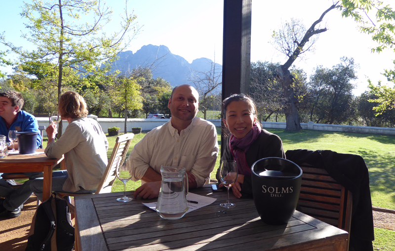 UCLA Anderson global immersion South Africa Solms-Delta Lisa Tang
