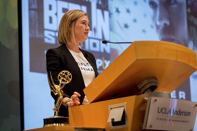 Paramount President Amy Powell UCLA Anderson Velocity Women's Summit