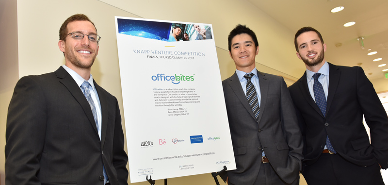 UCLA Anderson officebites Knap Venture Competition