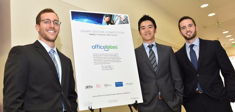 UCLA Anderson officebites Knap Venture Competition