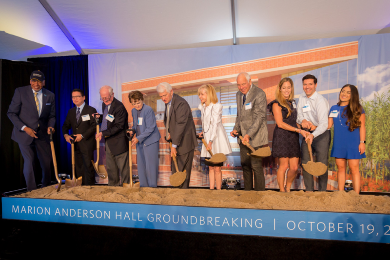 UCLA Anderson Marion Anderson Hall Groundbreaking