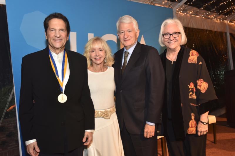 Peter Guber, Judy Olian, Gene Block, Teri Schwartz
