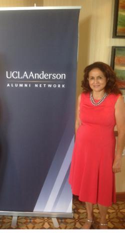 UCLA Anderson alumna Maggie Pena