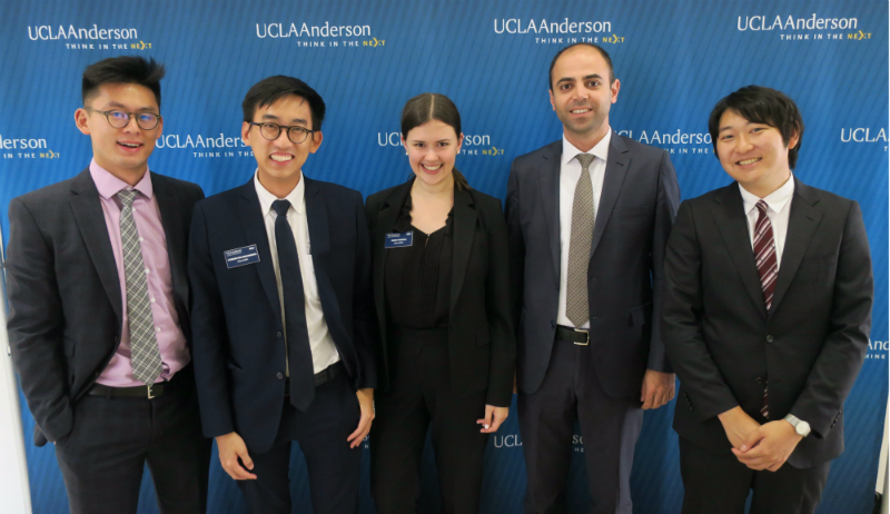 UCLA Anderson 2017 Net Impact Consulting Challenge 2nd place team