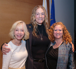 UCLA Anderson Dean Judy Olian, Martine Rothblatt, UCLA Law Dean Jennifer Mnookin