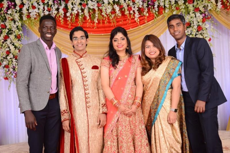 Harshal wedding