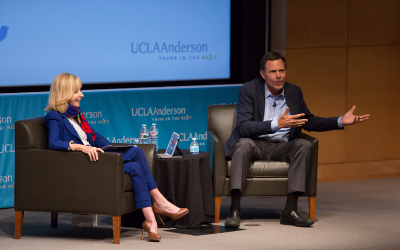 UCLA Anderson Chris Johnson Nestle