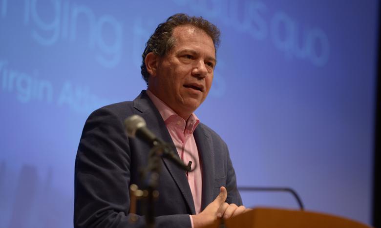 Innovator Craig Kreeger ('85), CEO of Virgin Atlantic