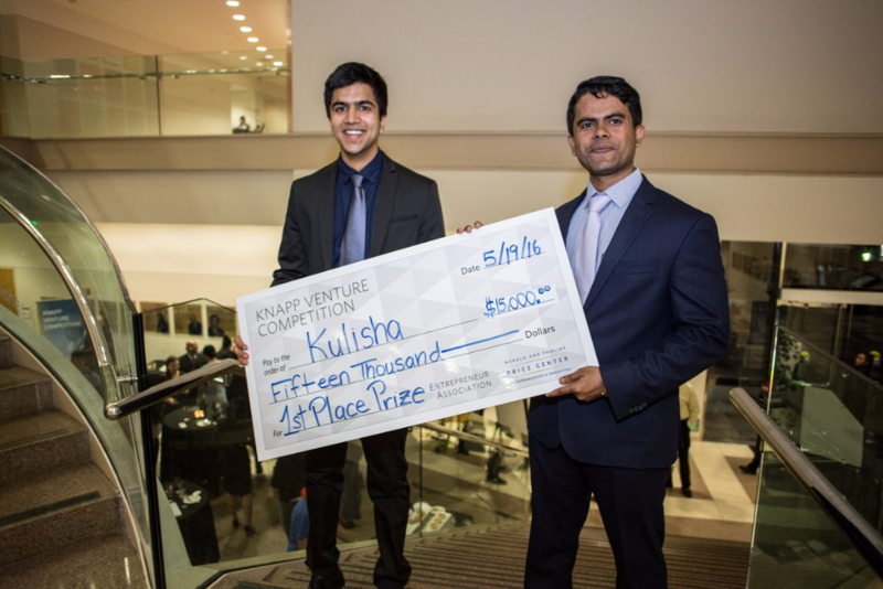 UCLA MBA entrepreneurs Kulisha