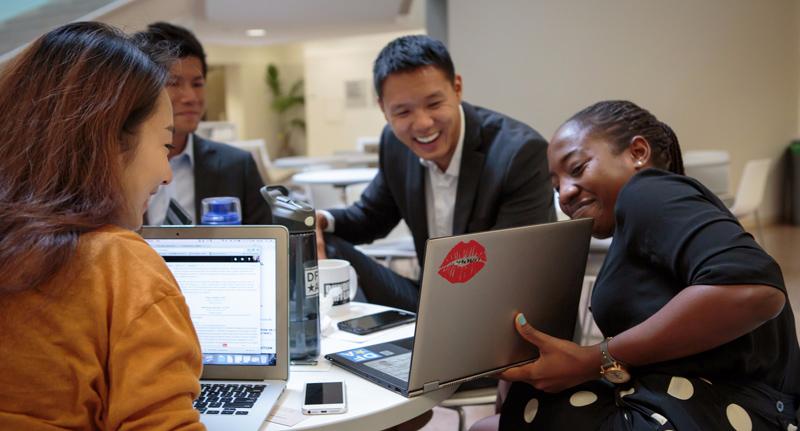 UCLA Anderson MBA entrepreneurs