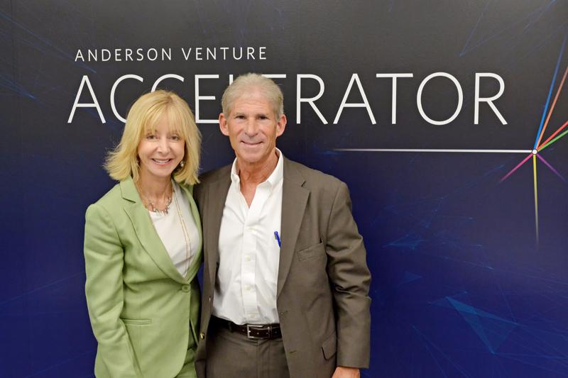 UCLA Anderson Venture Accelerator Dean Judy Olian Jim Freedman