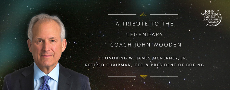 James McNerney, John Wooden Global Leadership Award
