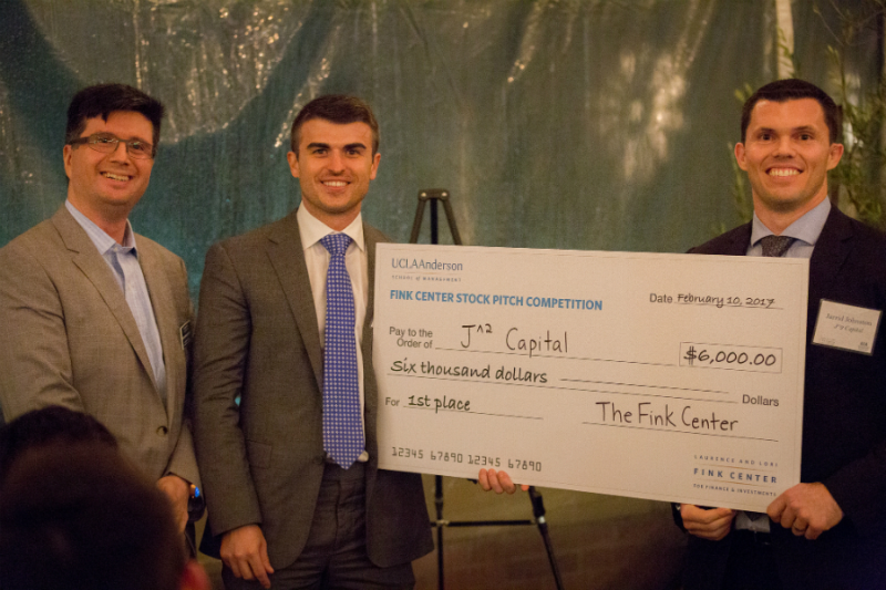 UCLA Anderson Fink Stock Pitch Jarrid Johnston Justin Phillips Jose Plehn-Dujowich