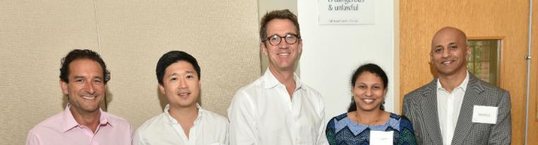 2018 UCLA Anderson Knapp Venture Competition judges