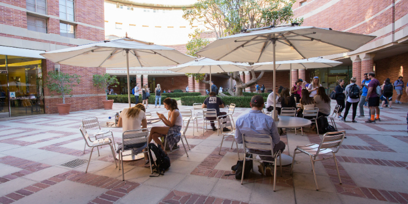 UCLA Anderson Marion Anderson Courtyard