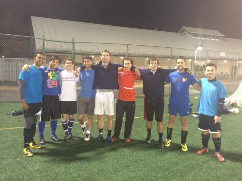 My soccer crew