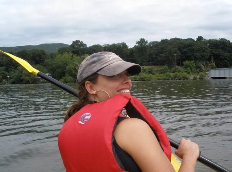 Chrissy Kayaking